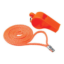 Attwood Orange Whistle Plastic Ball Type With Lanyard
