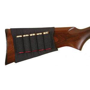 Allen Shotshell Holder Buttstock-Black
