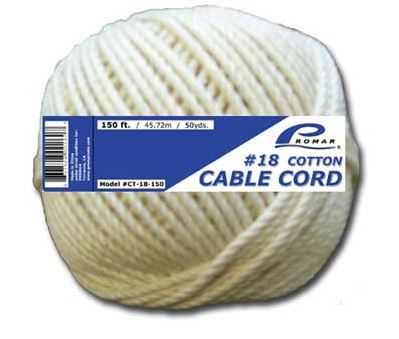 American Maple Cotton Twine 4Oz Size 24