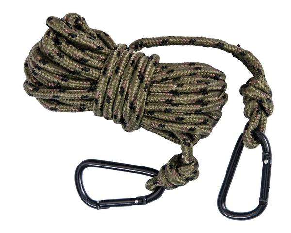 "Ameristep Rope W/Carabiner 30"" Camo Rope With Clip"