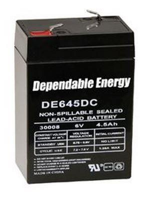 American Hunter Feeder Battery 6V Rechargeable 4.5-AMP HR With Post
