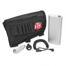 ATN Battery Pack 20000 MAH w/ USB Cable Cap & Butt Stock Case