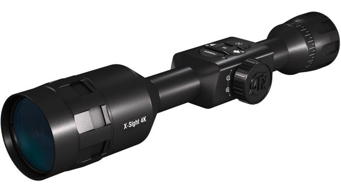 ATN X-Sight 4K PRO 3-14x Day-Night Smart Hunting Scope - Black - DGWSXS3144KP