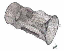 American Maple Minnow/Craw Trap Collapsible 10X10X18 Brown Net