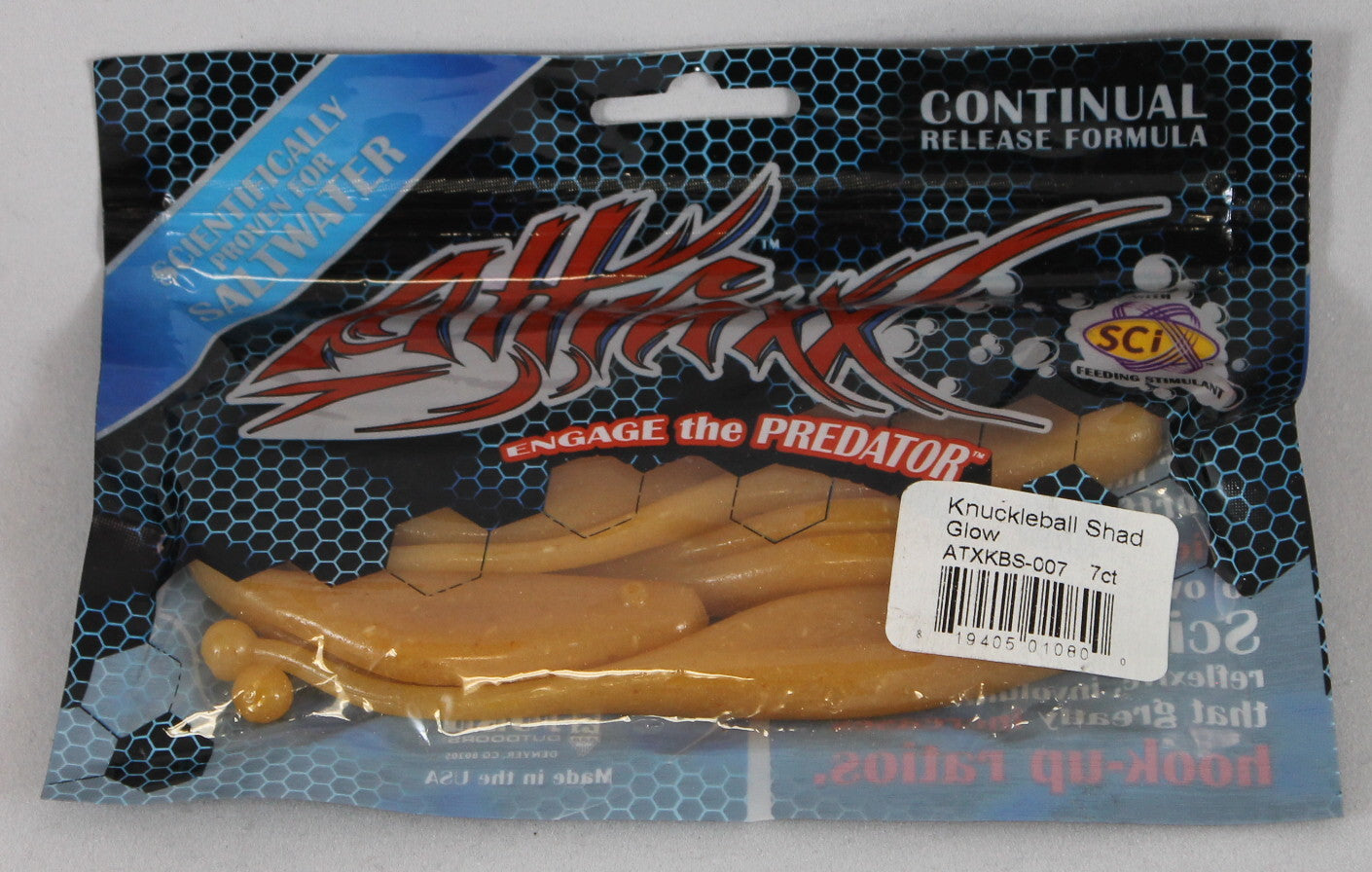 Attraxx Knuckleball Shad 5 Chartreuse Pearl Sportsmans Outfitters
