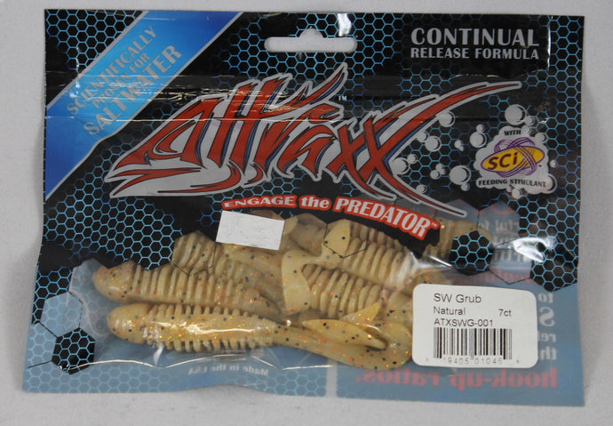 Attraxx Saltwater Grub 4.5