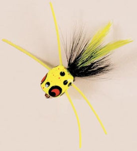 Betts Frugal Frog Size 10 Frog/Black/Chartreuse