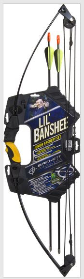 Barnett Lil' Banshee Jr Set 18 Lb Black Compound Bow