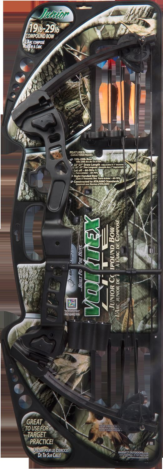 Barnett Vortex Lite Youth Bow 19-29LB 22-27