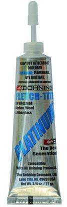 Bohning Fletch-Tite Platinum - 3/4 Oz Tube