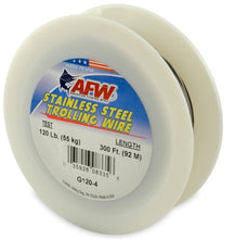 AFW/ Hi - Seas Stainless Steel Trolling Wire 300' Bright 15Lb .033Mm