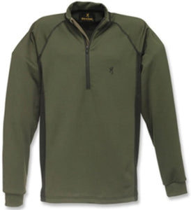 Browning Base Layer Top - Full Curl Wool Base Layer 1/4 Z-Top Medium