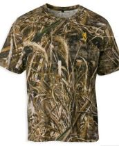 Browning Hells Canyon Basics T-Shirt Short Sleeve Realtree Xtra Medium Cotton/Poly