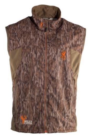 Browning Hells Canyon Vest Ultra-Lite Mossy Oak Bottomlands 2X Large