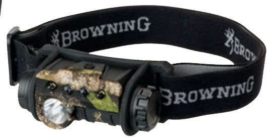 Browning Epic Headlamp Black and Camo
