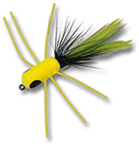 Betts Fire Fly Shimmy Size 10 Chartreuse/Black/Chartreuse