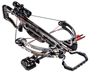 Barnett Raptor FX2 Crossbow 4X-Scope/Arrows/Quiver/RCD
