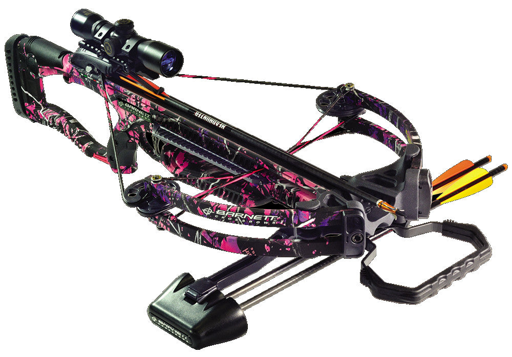Barnett Raptor FX Pink Package Lady Raptor FX 4X-Scope/Arrows/Quiver