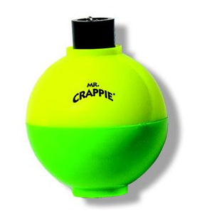"Betts Mr Crappie Snap On Float Round 1.25"" With Rattle 3 Per Pack"