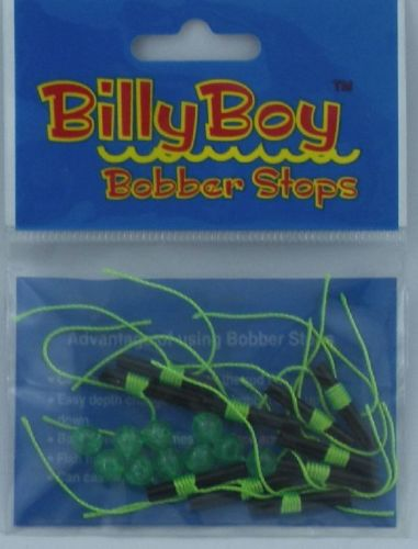 Betts Billy Boy Bobber Stops 10 Pack With Beads 2Lb-8Lb Line