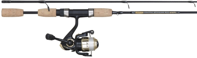 B&M Bucks Graphite Spinning Combo UL