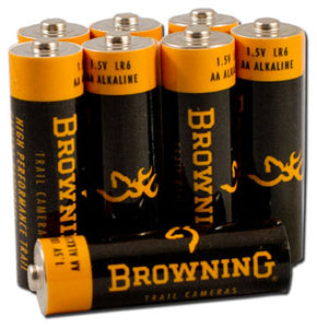 Browning Trail Camera Batteries AA Batteries 8Pack