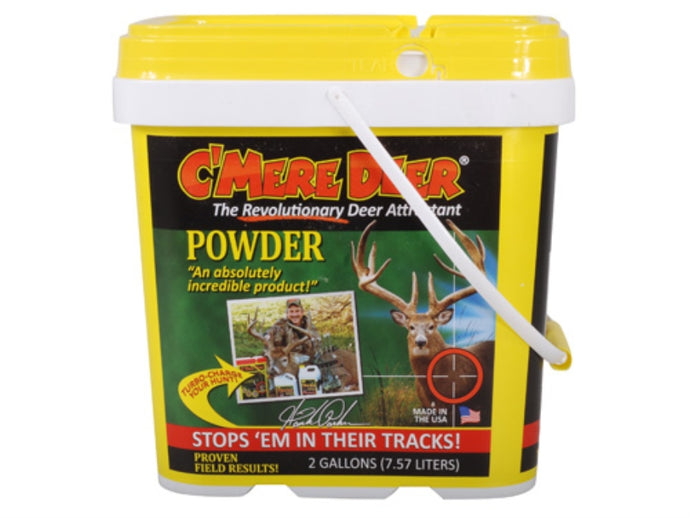 C-Mere Deer Game Attractant Powder 2 Gallon Jug