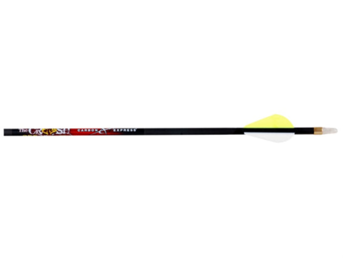 Carbon Express Crush Arrows 250 With Raptor Vanes 36 Per Pack