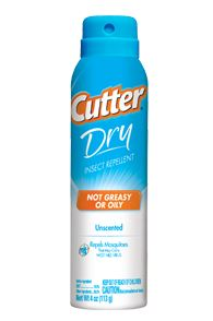 Cutter Insect Repellent Dry 10% Deet 4 Oz Aerosol