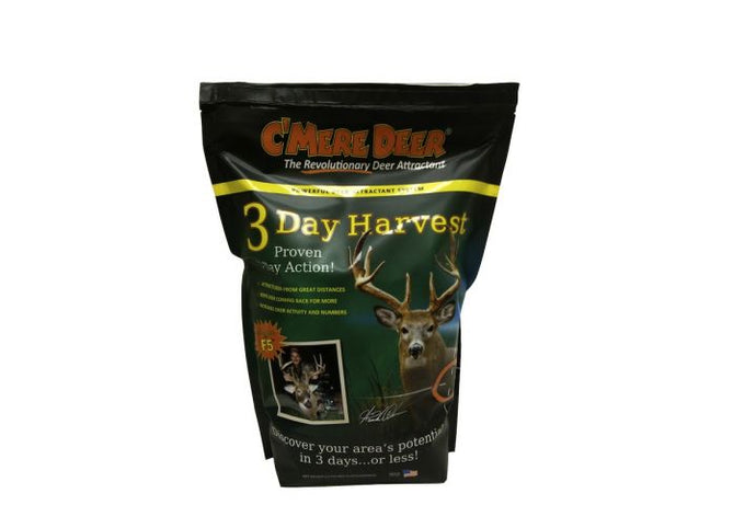 C' Mere Deer Game Attractant 3 Day Harvest 5.5 Lb Bag ORDER 3