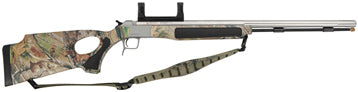 CVA Accura 209 Muzzleloader 50 Cal Stainless/Camo Thumbhole Stock W/Mounts
