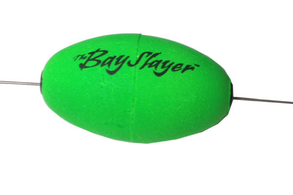 Comal Bay Slayer Oval Popper Green Weighted 1 Pack