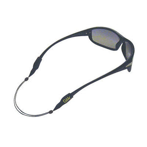 "Cablz Zipz Sunglass Retainer 16"" Black XL"