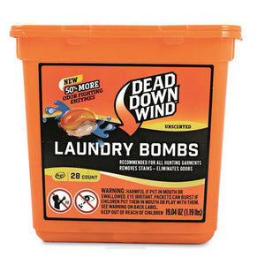 Dead Down Wind Scent Elimination Laundry Pods 28 Count