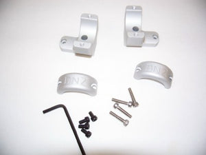 Dednutz Scope Mounts-Silver High A-Bolt/Steyr 1""