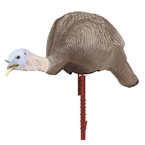 Flambeau Turkey Decoy Masters Series Feeding Hen With Stake