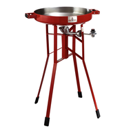 "FireDisc Cookers 36"" Portable Propane Cooker - Fireman Red - TCGFD22HRR"