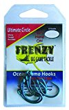 Frenzy Ulitimate Circle Hook 6 Per Pack Size 5/0 Blue Re-Sealable Water Proof Packaging