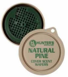 Hunters Specialties Prime time Scent Wafers Natural Pine 3 Per Pack