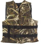 Kent Universal Life Vest Adult Maximum -4 Camo