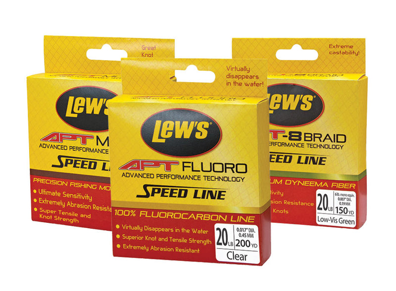 Lews APT Speed Mono Clear 6Lb 500 Yards