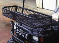 Miller Golf Cart Front Basket Rubber Coated