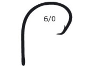 Mustad Ultra Demon Circle Hook Black Nickel 1X 10 Per Pack - Size 1