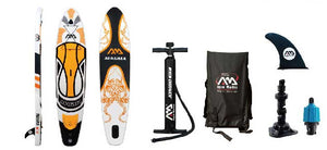 "Aqua Marina Magma 10'10"" Inflatable Stand Up Paddleboard ISUP"
