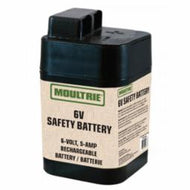 Moultrie Game Feeder Battery Rechargeable 6-V Safety Battery