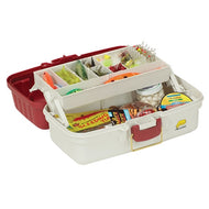 Plano Tackle Box 1 Tray Red/White
