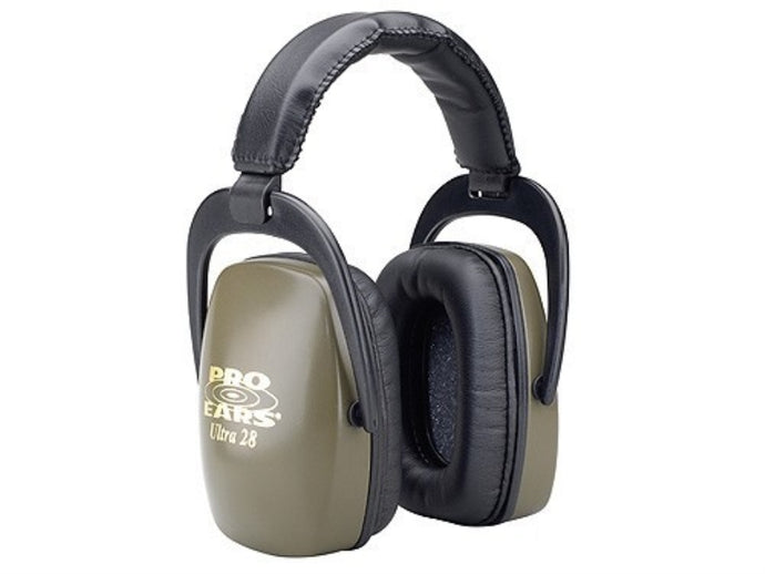 Benchmaster Pro Ears Ultra 28 Muffs Graineen NRR 28