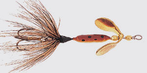 Rooster Tails Single Hook 1/16Oz Brown 12 Per Box