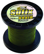 Suffix Performance Braid - Low-Vis Green - 3500 Yard Spools