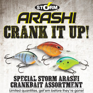 Storm Arashi Crankbait Assortment - 72 pieces